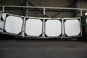 污泥壓濾機濾布自動清洗系統工作原理