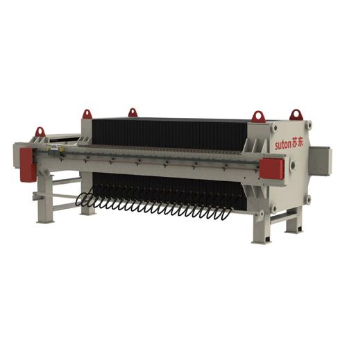 橡膠隔膜板框壓濾機